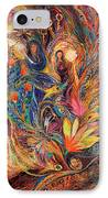 The Women Of Tanakh - Miriam With Timbrels IPhone Case