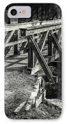 The Wooden Bridge IPhone Case
