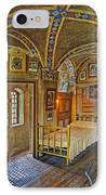 The Yellow Room At Fonthill Castle IPhone Case by Susan Candelario