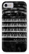 Theater Organ IPhone Case by Jack Zulli