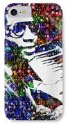 Thelonious Monk IPhone Case by Jack Zulli