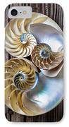 Three Chambered Nautilus IPhone Case by Garry Gay