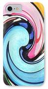 Three Swirls IPhone Case by Helena Tiainen