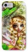 Thumbelina IPhone Case by Mo T