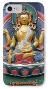 Tibetan Buddhist Deity IPhone Case