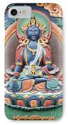 Tibetan Buddhist Temple Deity IPhone Case by Tim Gainey