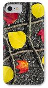 Tic-tac-toe IPhone Case by Christina Rollo