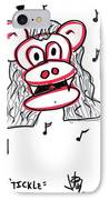 Tickle IPhone Case by Jera Sky