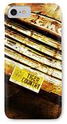 Tiger Country Old School IPhone Case by Scott Pellegrin