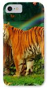 Tiger Love Tropical IPhone Case