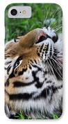 Tiger Tongue IPhone Case by Dan Sproul