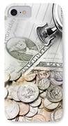 Time Is Money Concept IPhone Case