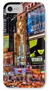 Times Square IPhone Case by Randy Aveille