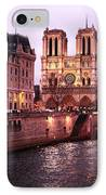To Notre Dame IPhone Case by John Rizzuto