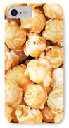 Toffee Popcorn IPhone Case by Jane Rix