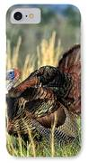 Tom Turkey IPhone Case by Jaki Miller