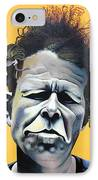 Tom Waits - He's Big In Japan IPhone Case