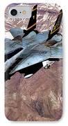 Tomcat Over Iraq IPhone Case