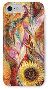 Towards The Sun IPhone Case by Elena Kotliarker