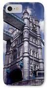 Tower Bridge London IPhone Case by Mariola Bitner