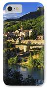 Town Of Sisteron In Provence IPhone Case