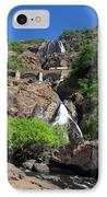 Train Crossing Dudhsagar Falls IPhone Case