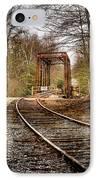 Train Memories IPhone Case by Debra and Dave Vanderlaan