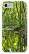 Tranquility In The Forest IPhone Case by Adam Jewell