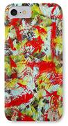 Transitions With Yellow Brown And Red  IPhone Case