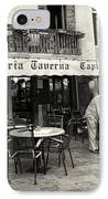 Trattoria In Venice  IPhone Case by Madeline Ellis