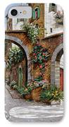 Tre Archi IPhone Case by Guido Borelli