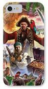 Treasure Island IPhone Case by Steve Crisp