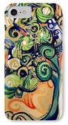 Tree Candy 2 IPhone Case by Genevieve Esson