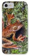 Tree Clinger IPhone Case by Ryan Lamoureux
