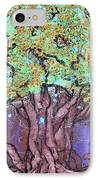 Tree In Three Dee IPhone Case by Genevieve Esson