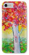 Tree Of Life In Spring IPhone Case by Ana Maria Edulescu