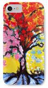 Tree Of Life IPhone Case by Ramona Matei