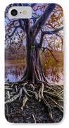 Tree Of Souls IPhone Case by Debra and Dave Vanderlaan