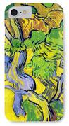 Tree Roots And Tree Trunks IPhone Case by Vincent Van Gogh