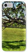Tree With A Swing IPhone Case