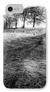 Trees On A Hill IPhone Case by John Farnan