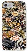 Trickle Down Theory IPhone Case by Colleen Kammerer
