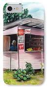 Trini Roti Shop IPhone Case