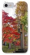 Trinity Cemetery IPhone Case by Sarah Loft