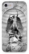 Triumphant Saint Michael IPhone Case