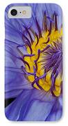 Tropical Day Flowering Waterlily IPhone Case