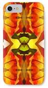 Tropical Leaf Pattern 4 IPhone Case