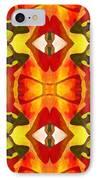 Tropical Leaf Pattern 7 IPhone Case