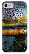 Trout On Fly IPhone Case