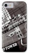 Trump Tower IPhone Case by Dave Bowman